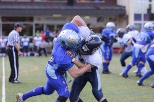 Albershausen Crusaders schlagen die Weinheim Longhorns